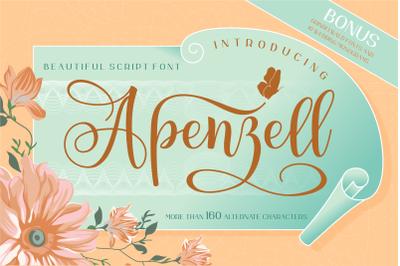 Apenzell Script   2 font
