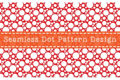 Seamless Dot Pattern Design