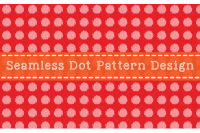 Seamless Dot Pattern Design