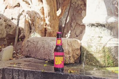 Fountain Beer Mockup