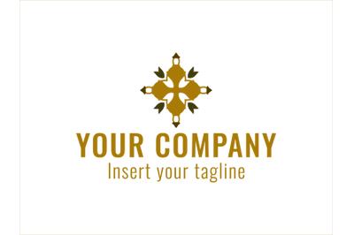 Logo Gold Vector Black Background