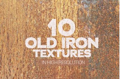 Old Iron Textures x10