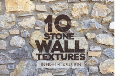 Stone Wall Textures Vol.1 x10