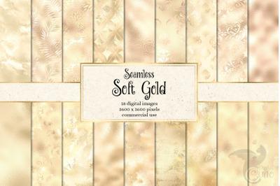 Soft Gold Digital Paper