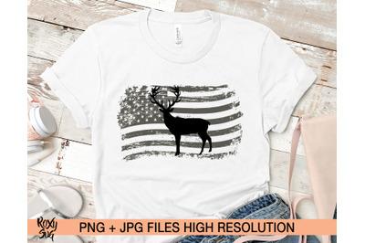 American flag png, Deer sublimation designs download, 4th July png