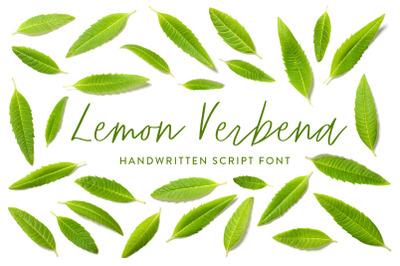 Lemon Verbena Handwritten Font