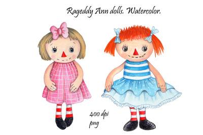 Ragaddy Ann dolls