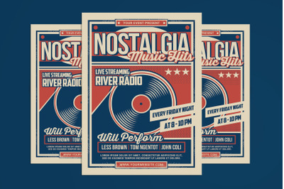 Radio Streaming Nostalgia Event
