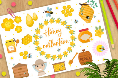 Honey collection