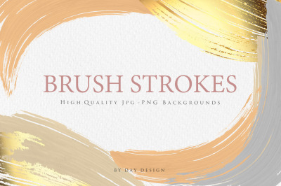 Watercolor Brush Strokes Backgrounds