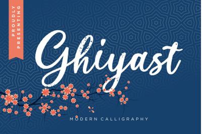 Ghiyast Modern Calligraphy