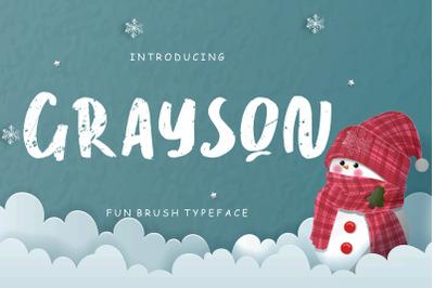 Grayson Fun Brush