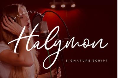 Halymon Signature Script