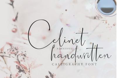 Celinet / Calligraphic Font
