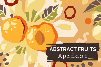 Apricot - Modern abstract patterns
