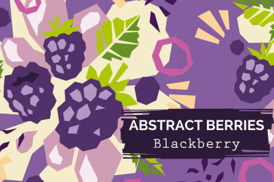 Blackberry paper cut style patterns