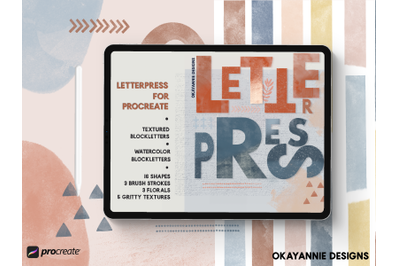 LetterPress for Procreate