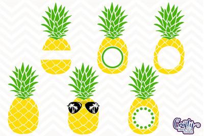 Pineapple Svg, Summer Svg, Summer Svg, Beach Svg, Vacation