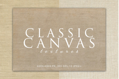 Classic Canvas Textures