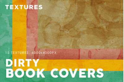 Dirty Book Cover Textures