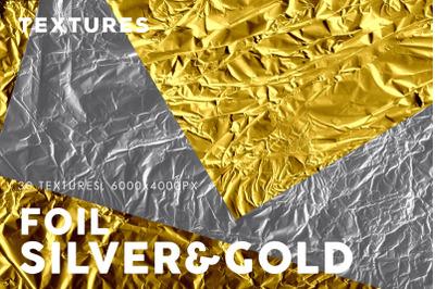Silver Foil Textures