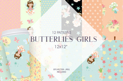 Butterflies Girls