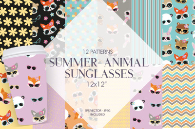 Summer Animal Sunglasses