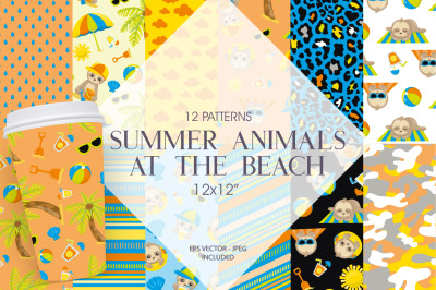 Summer Animals at the Beach