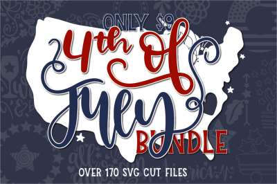 The 4th of July SVG Bundle
