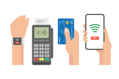 Contactless Payment Concept