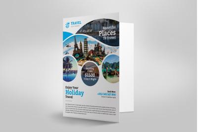 Travel Presentation Folder