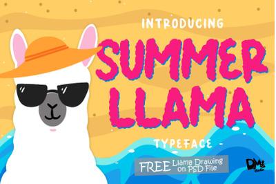 Summer Llama