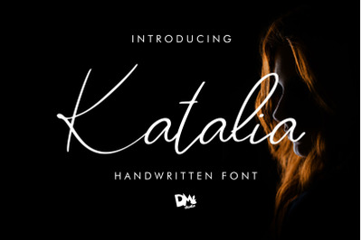 katalia - SIgnature Font