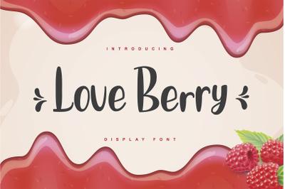 Love Berry
