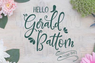 Gerald Battom-FONT DUO