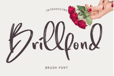 Brillfond Brush Font