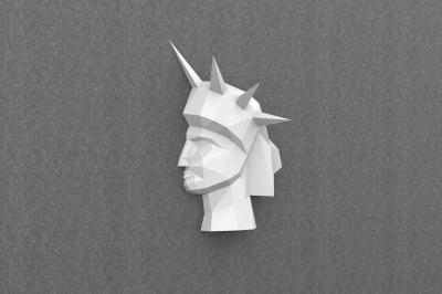 DIY Statue of Liberty Trophy - 3d papercraft