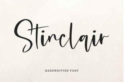 Stinclair Font