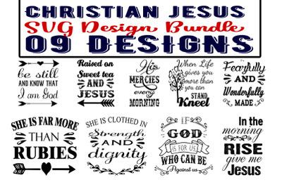 Christian Jesus SVG Bundle