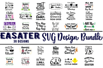 Easater SVG bundle