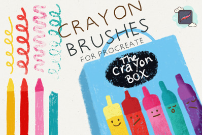The Procreate Crayon Box