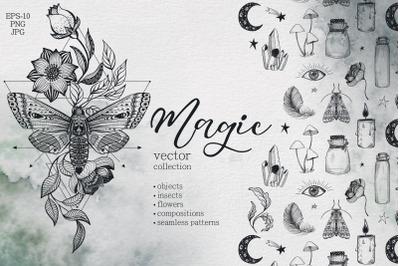 Magic vector collection
