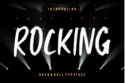 Rocking Rock & Roll Typeface