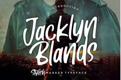 Jacklyn Blands Stylish Marker