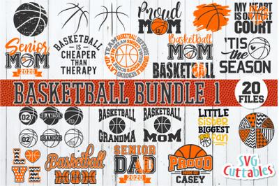 Basketball SVG Bundle 1