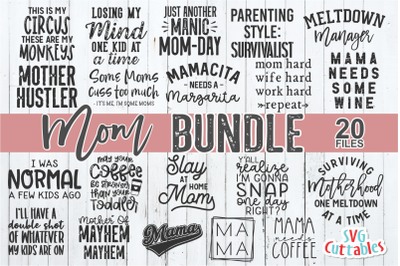 Mom SVG Bundle