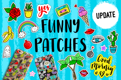100+ Funny patches + 36 patterns