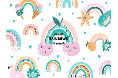 Rainbow Cute Clipart