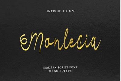 Monlesia Script