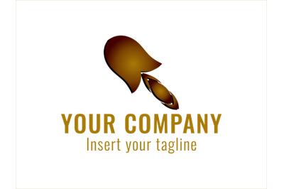 Logo Gradation Motive Ice Cream